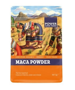 Power Super Foods Organic Maca Root Powder 1kg 20% OFF