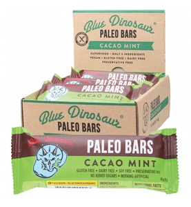 Blue Dinosaur Cacao Mint (Paleo Bar) 12x45g