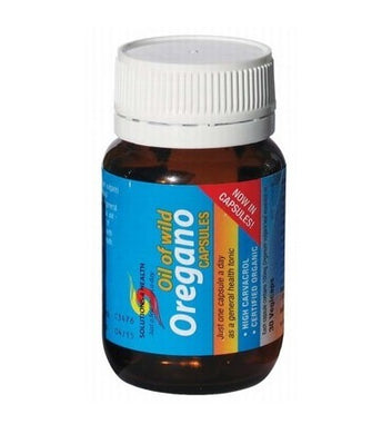 Solutions 4 Health Oil of Wild Oregano 30 Vege Caps