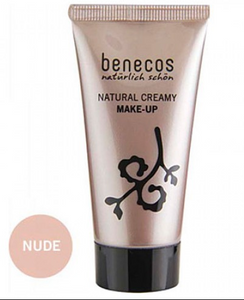 Benecos Natural Creamy Make-Up - Nude (30ml)