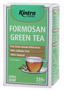 Kintra Formosan Green Tea Loose Leaf 250g