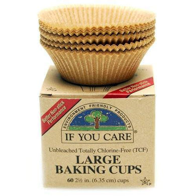 If You Care Large Baking Cups 60 cups (6.35cm diameter)