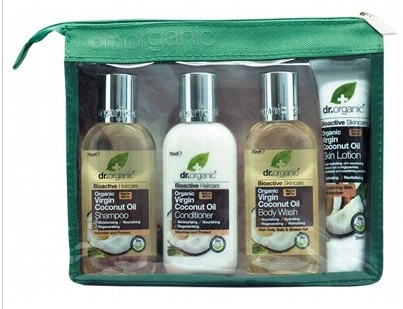 DR ORGANIC Mini Travel Pack - Virgin Coconut Oil