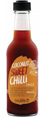 Niulife Organic Coconut Sweet Chilli Sauce 250ml