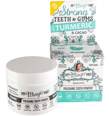 My Magic Mud Polishing Tooth Powder - Spearmint 40g
