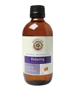 Riddells Creek Relaxing Massage Oil 200ml