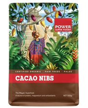Power Super Foods Organic Cacao Nibs 500g