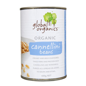Global Organics Cannellini Beans (BPA Free Can) 400g