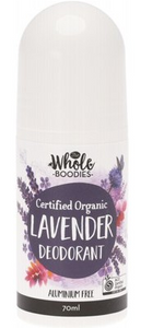 The Whole Boodies Roll-On Deodorant Lavender - 70ml