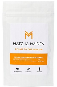 Matcha Maiden - Matcha Green Tea Powder - Fly Me To The Immune 70g