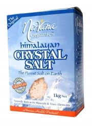 Nirvana Himalayan Salt Stone Ground (Granules) 1kg