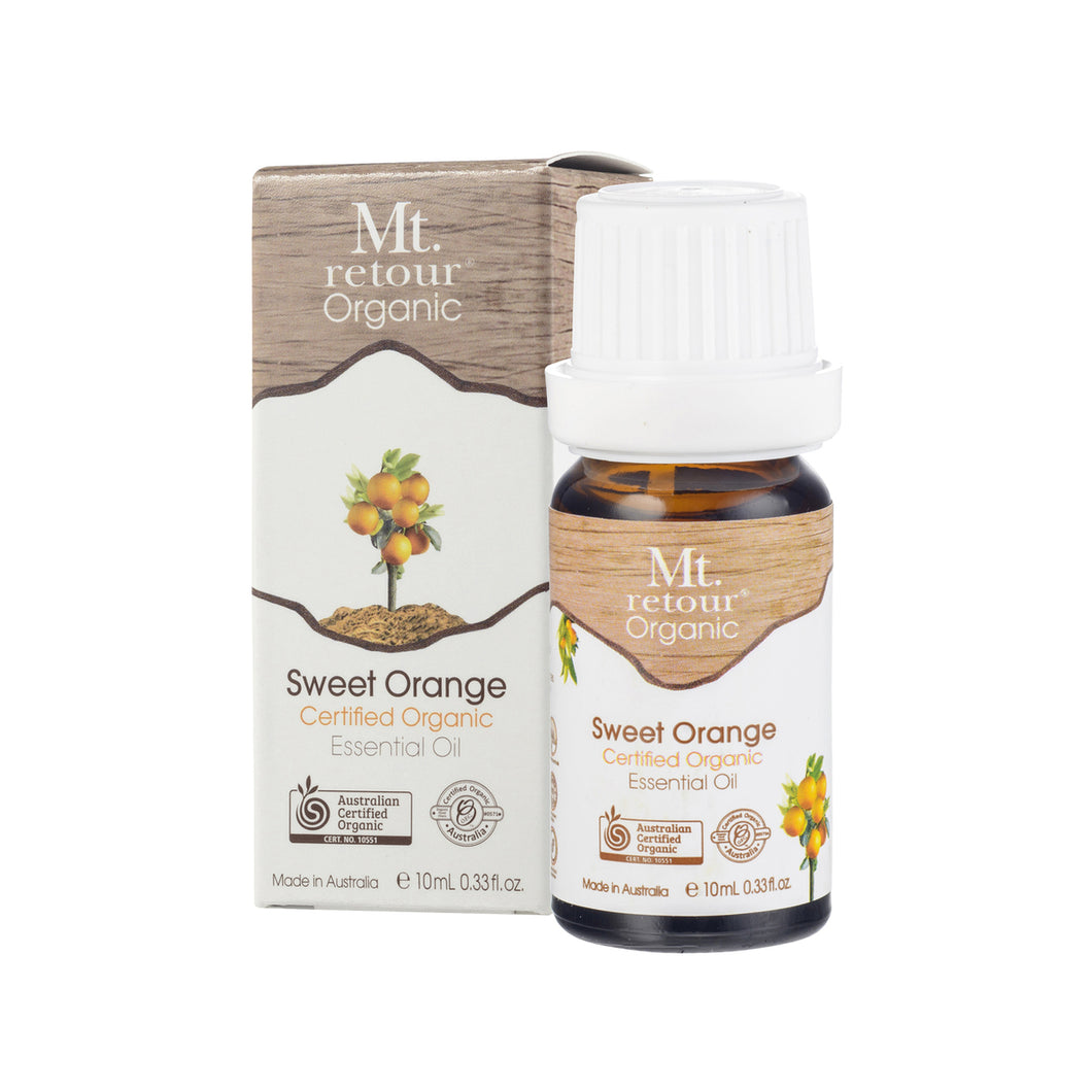 Mt Retour Sweet Orange Essential Oil 10ml