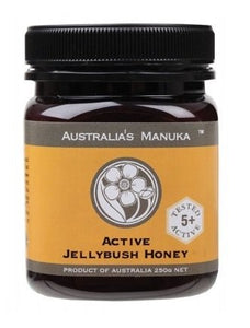 Australia's Manuka Honey Active Jellybush 5+ ULF 250g