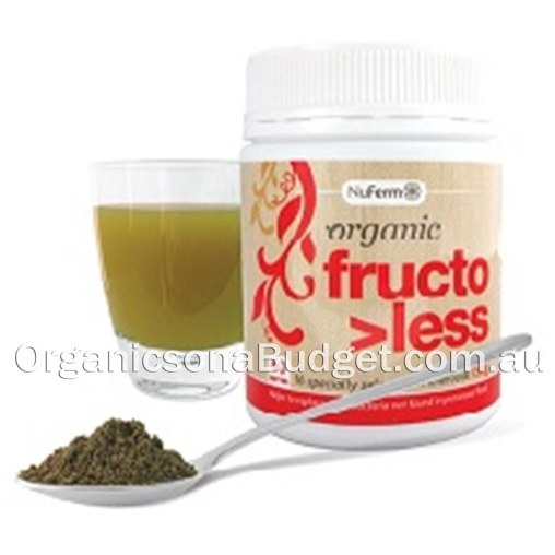Nattrition Probiotic Food Organic Fructo>Less 150g