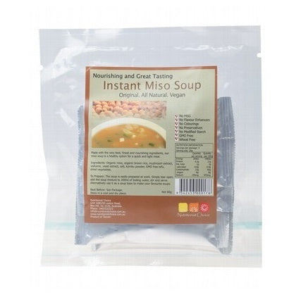 Nutritionist Choice Instant Miso Soup 4x20g