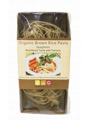 Nutritionist Choice Organic Brown Rice Spaghetti 180g