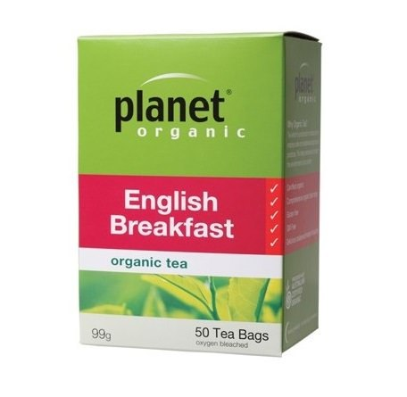 Planet Organic English Breakfast Tea 50 Tea bags/99g