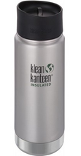 Klean Kanteen Insulated Travel Mug Stainless Cafe Cap - 473ml