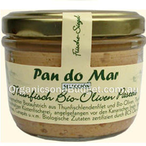 Pan Do Mar Tuna Pate with Organic Olives 125g