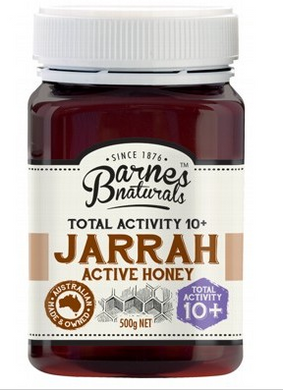 BARNES NATURALS Jarrah Active Honey TA 10+ 500g
