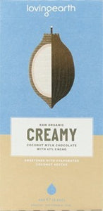 Loving Earth Coconut Mylk Chocolate 47% Cacao 80g