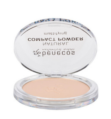 Benecos Natural Compact Powder - Porcelain 9g