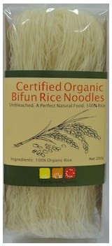 Nutritionist Choice Rice Bifun Organic Unbleached Noodle 200g