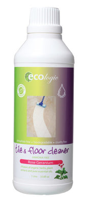 Ecologic Tile & Floor Cleaner Rose Geranium 1L