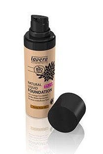 Lavera Natural Liquid Foundation - Honey Beige 04 30ml