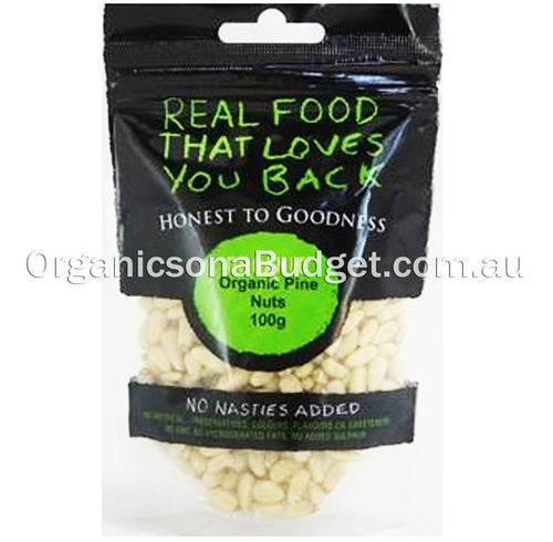 Honest To Goodness Organic Pine Nuts 100g