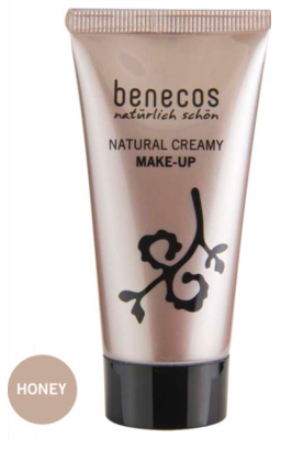 Benecos Natural Creamy Make-Up - Honey (30ml)