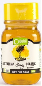 Absolute Organic Australian Honey Squeeze 500g