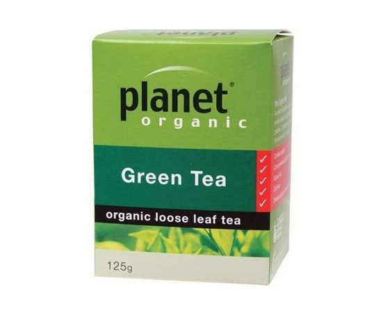 Planet Organic Green Loose Leaf Tea 125g