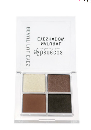 Benecos Natural Quattro Eyeshadow - Coffee & Cream
