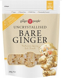The Ginger People Uncrystallised Bare Ginger - 200g