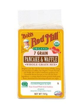 Bob's Red Mill Organic 7 Grain Pancake & Waffle Mix 737g