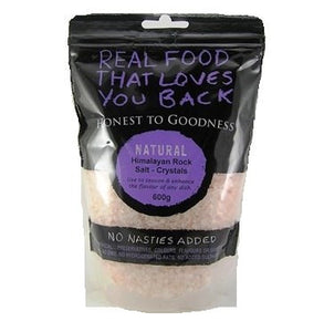 Honest To Goodness Himalayan Crystalline Salt - Crystals 600g