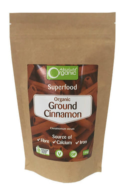 Absolute Organic Cinnamon Powder 150g