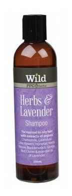 Wild Herbs & Lavender Shampoo (Normal to Oily) 250ml