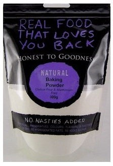 Honest To Goodness Baking Powder Gluten & Aluminium Free 300g