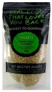 Honest To Goodness Organic Buckwheat Hulled 500g