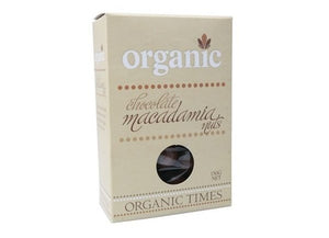 Organic Times Milk Chocolate & Macadamia Nuts 150g