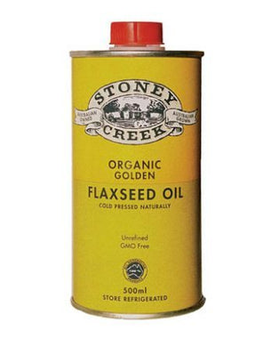 Stoney Creek Organic Golden Flaxseed Oil 500ml