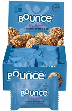 Bounce Energy Balls Chia Almond Box 12x49g