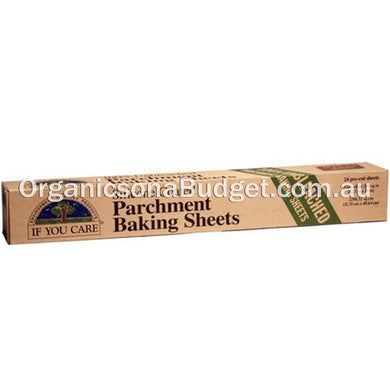 If You Care Parchment Baking Paper 24 Sheets