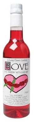 Alchemy Cordials Love - Rosepetal & Lime Syrup 750ml