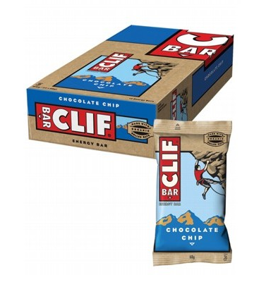 Clif Bar Chocolate Chip Energy Bar 12x68g