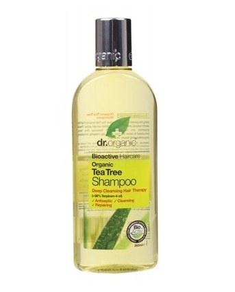 Dr Organic Tea Tree Shampoo 250ml