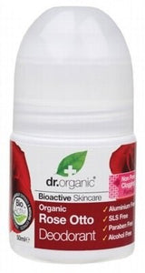 Dr Organic Rose Otto Roll-on Deodorant 50ml