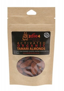 2die4 Live Foods Activated Organic Tamari Almonds - 40g